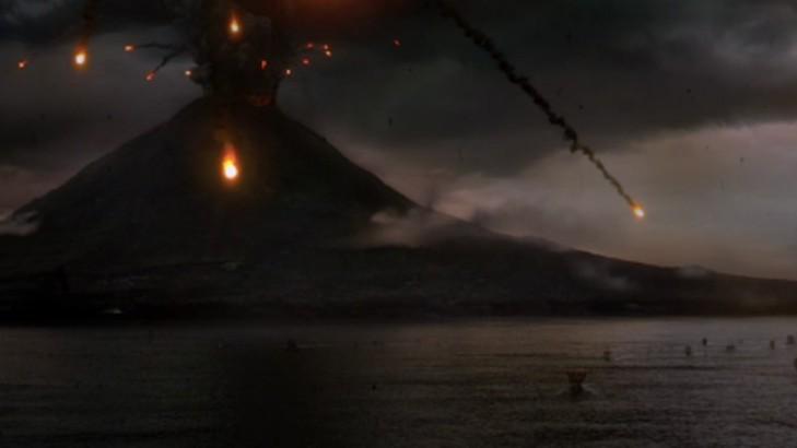 """Armageddon"" AD 79. W roli asteroidy - Wezuwiusz"