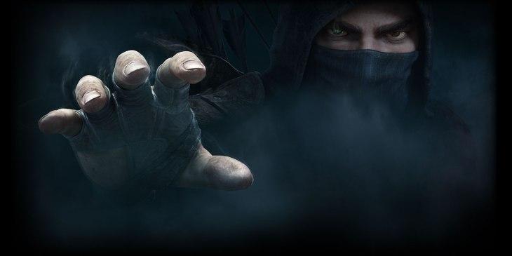 """Garrett z gry """"Thief"""" tylko trochę bez związku z tekstem."""