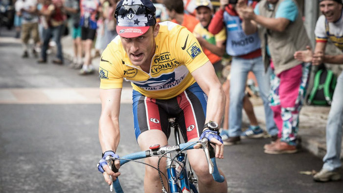 Ben Foster jako Lance Armstrong